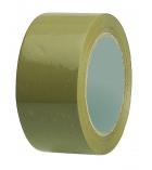 Paquet de 6 adhésifs polypro havane - 50 mm x 100 m