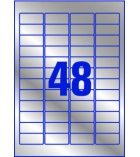 Boîte de 960 étiquettes laser métalliques AVERY - L6009 - 45,7 x 21,2 mm