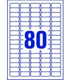 Boîte de 2000 étiquettes jet d'encre pour adresse AVERY - L7632 - 35,6 x 16,9 mm