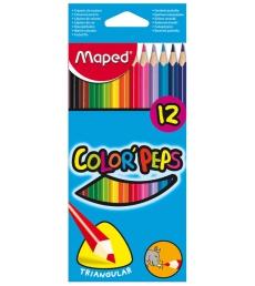 Etui de 12 crayons de couleur MAPED - Color Pep's