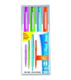 Pochette 4 stylos feutres PAPER MATE - Flair Nylon fun - pointe moyenne