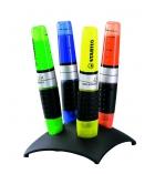 Pochette de 4 surligneurs STABILO - Luminator - assortiment