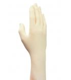 Boîte de 100 gants latex - non poudrés - médium 7,5