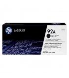 Cartouche d'impression laser noir HP 2500 pages - C4092A - 92A