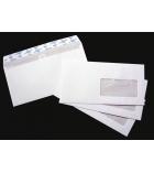 Boîte de 500 enveloppes ouverture facile - 110 x 220 mm - fenêtre 35 x 100 - 90 g