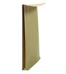 Boîte 250 pochettes auto-adhésives kraft brun armé - 229 x 324 - sans fenêtre - 130 g - soufflet 30
