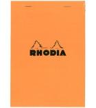 Bloc-notes piqûre RHODIA - A4 - 210 x 297 mm - 5 x 5 - 80 g