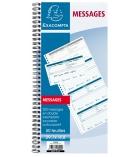 Carnet de 200 messages téléphoniques reçus EXACOMPTA - 29,7 x 14,8 cm