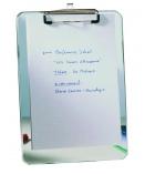 Plaque porte-bloc plexi - pour A4 - transparent