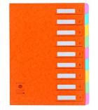 Trieur couverture carte - 9 compartiments avec fenêtres