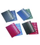 Trieur couverture polypro intérieur carte EXTENDOS à élastique - 7 compartiments