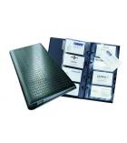 Porte-cartes de visite DURABLE Visifix Centium - 14,5 x 25,5cm - pour 200 cartes