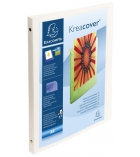 Classeur souple personnalisable EXACOMPTA Kreacover - dos 2 cm - A4+ - coloris blanc