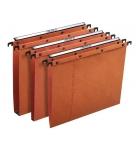 Paquet de 25 dossiers suspendus pour tiroir L'OBLIQUE AZO Ultimate - plié en V - orange