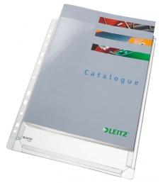 Paquet de 10 pochettes perforées à soufflets LEITZ -  A4
