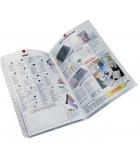 Sachet de 10 pochettes perforées polypro - A3 pliées