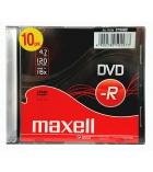 Pack de 10 DVD-R boîtier slim - 4,7 Go