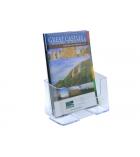 Porte-brochures Eco comptoir 1 case - A5