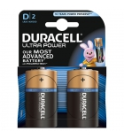 Paquet de 2 piles DURACELL - Ultra Power LR20