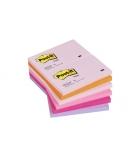 Paquet de 12 blocs POST-IT -76 x 127 mm - couleurs plaisirs