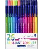 Set de 26 feutres de coloriage STAEDTLER - Triplus Color 323 - assortiment