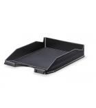 Corbeille à courier 100% recylée - opaque noir
