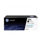 Cartouche laser noire HP 1600 pages - CF230A - 30A