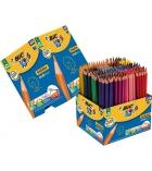 Classpack 248 + 40 crayons de couleur BIC kids Écolution - 12 couleurs assorties