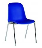 Chaise coque empilable et accrochable - Elena