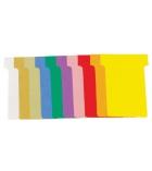 Paquet de 100 fiches T pour planning - 92 mm - indice 3