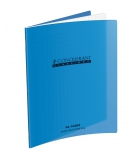 Cahier piqûre polypro - CONQUERANT - 48 pages - 17 x 22 cm - séyès