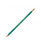 Boîte de 12 crayons BIC - Evolutions - HB 655 - bout gomme