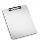 Plaque porte-bloc en métal - pour A4