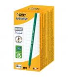 Boîte de 100 crayons graphite BIC Evolution Ecolutions 650 HB