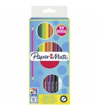 Etui de 12 crayons de couleur ronds PAPERMATE double pointe - 3,3 mm