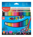Etui de 48 crayons de couleur MAPED Color pep's