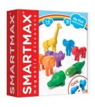 Jeu de construction Smartmax 6 animaux safari - dès 1 an