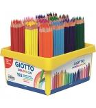 Schoolpack de 192 crayons de couleur GIOTTO Colors 3 mm