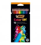 Etui de 12 crayons de couleur BIC Color Up triangulaires