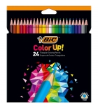Etui de 24 crayons de couleur BIC Color Up triangulaires