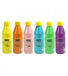 Lot de 6 flacons de peinture acrylique PEBEO Acrycolor pastel - 500 ml