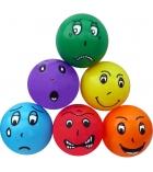 Lot de 6 balles regonflables en PVC - Ø 20 cm