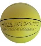 Ballon d'éveil au basketball en PVC - Ø 17,8 cm - 200g
