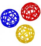 Balle alvéolaire - Ø 16 cm - coloris aléatoire