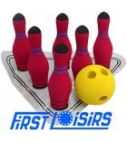Set de soft bowling en mousse de caoutchouc
