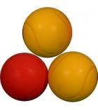 Lot de 3 balles de tennis en mousse - Ø 70 cm
