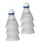 Lot de 6 volants de badminton