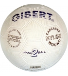 Ballon de handball en caoutchouc - taille 2 - Ø 17,5 cm
