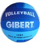 Ballon de volley en cuir synthétique - taille 2 - Ø 17,5 cm