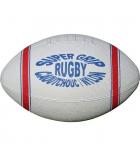 Ballon de rugby en caoutchouc - taille 4